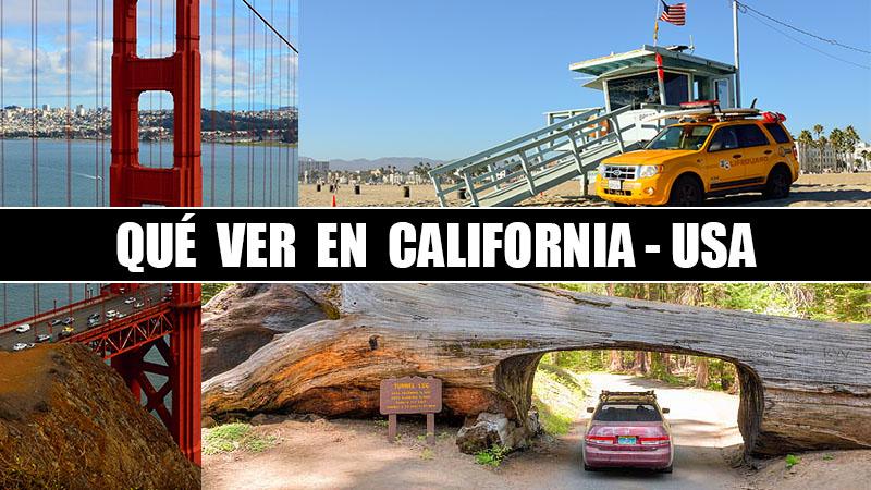 QUE VER EN CALIFORNIA