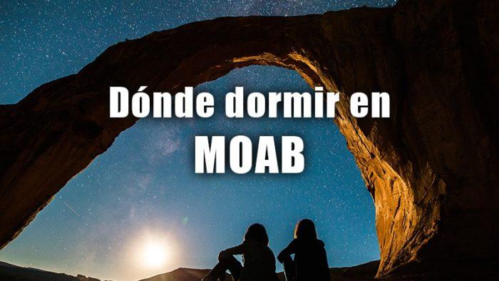 DONDE DORMIR EN MOAB