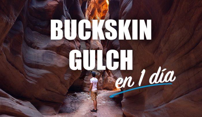 recorrer el buckskin gulch en 1 día