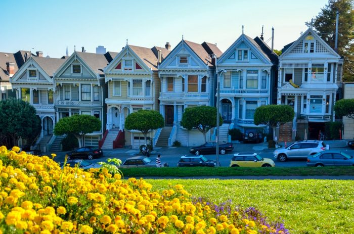 SAN FRANCISCO ALAMO SQUARE