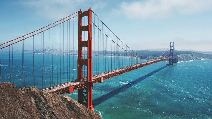 SAN FRANCISCO PUENTE GOLDEN GATE