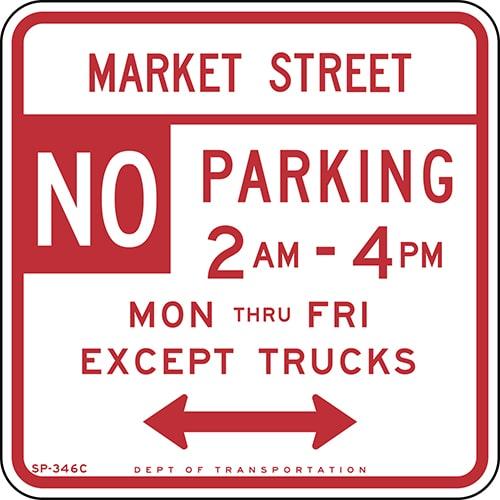 señales para saber dónde aparcar en san francisco
