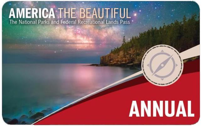Annual Pass para visitar los parques nacionales de eeuu
