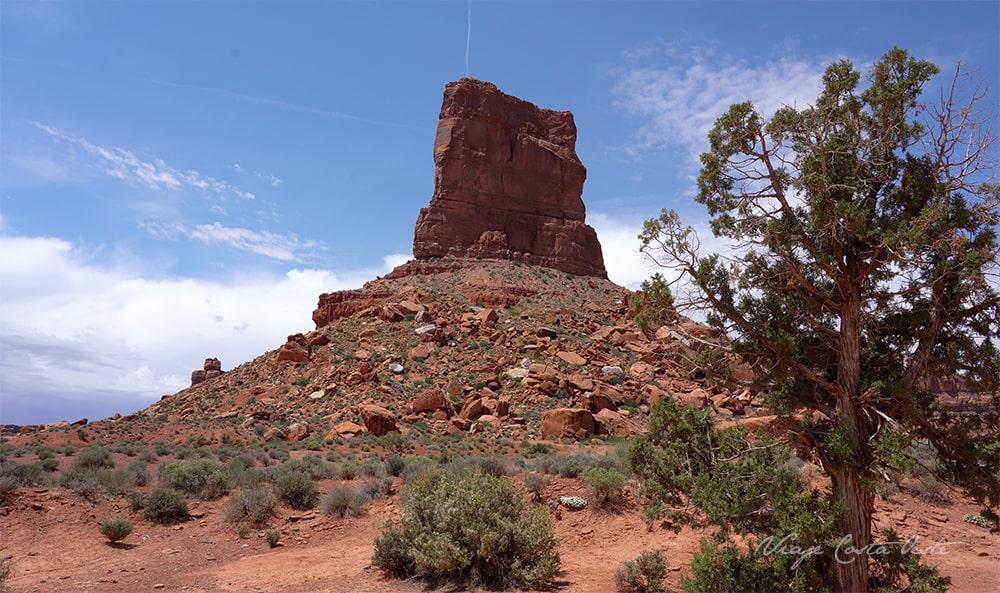 Castle Butte - Valley of the Gods Utah - El Valle de los Dioses