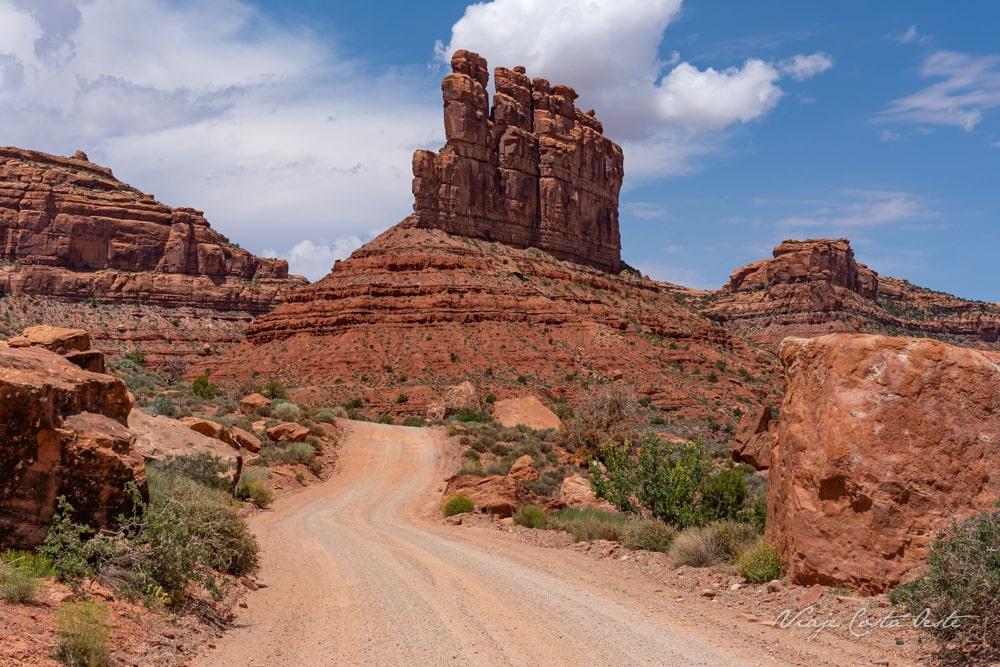 De Gaulle and his Trops - Valley of the Gods Utah - El Valle de los Dioses