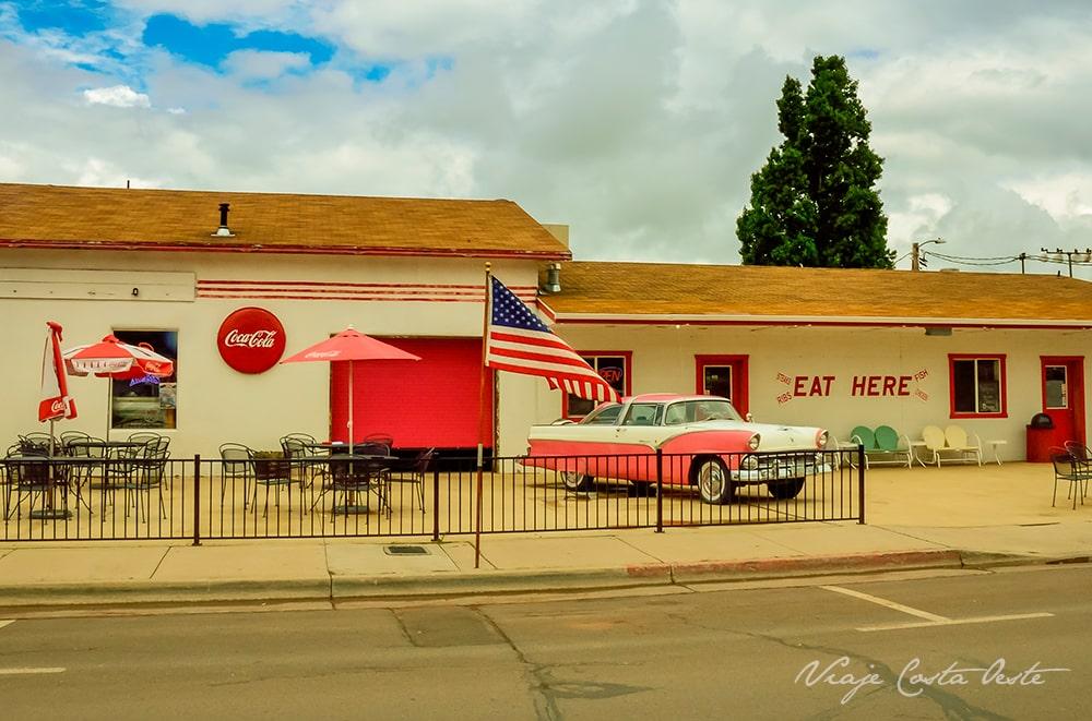 Goldies Route 66 diner Williams