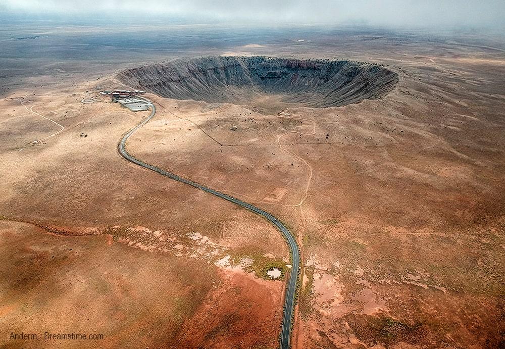 Meteor Crater Ruta 66 Arizona