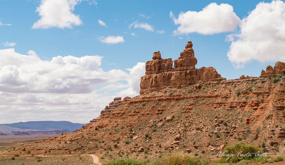 Rudolph & Santa Calus - Valley of the Gods Utah - El Valle de los Dioses