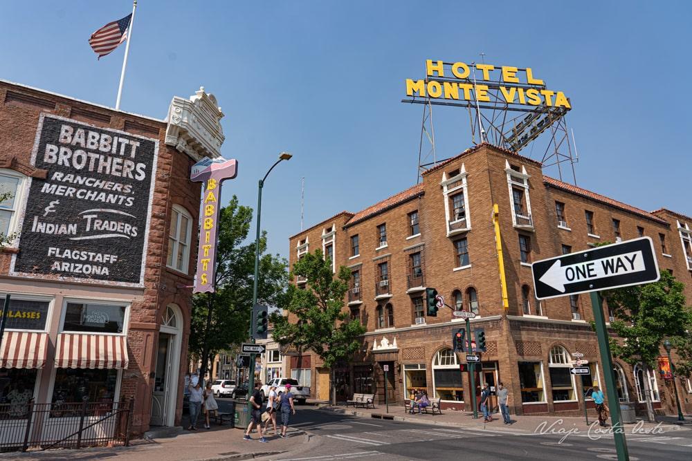 Ruta 66 Flagstaff Hotel Monte Vista