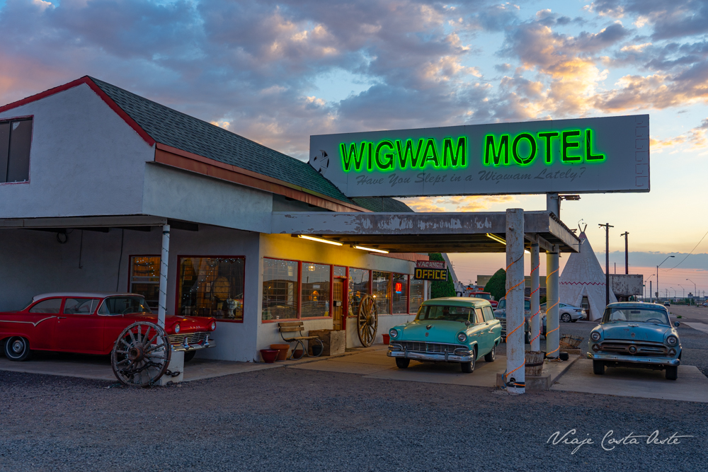Wigwam Motel Ruta 66