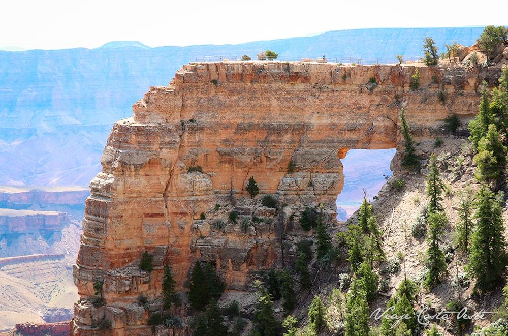Angels Window - North Rim Gran Cañón del Colorado VIAJE COSTA OESTE EEUU