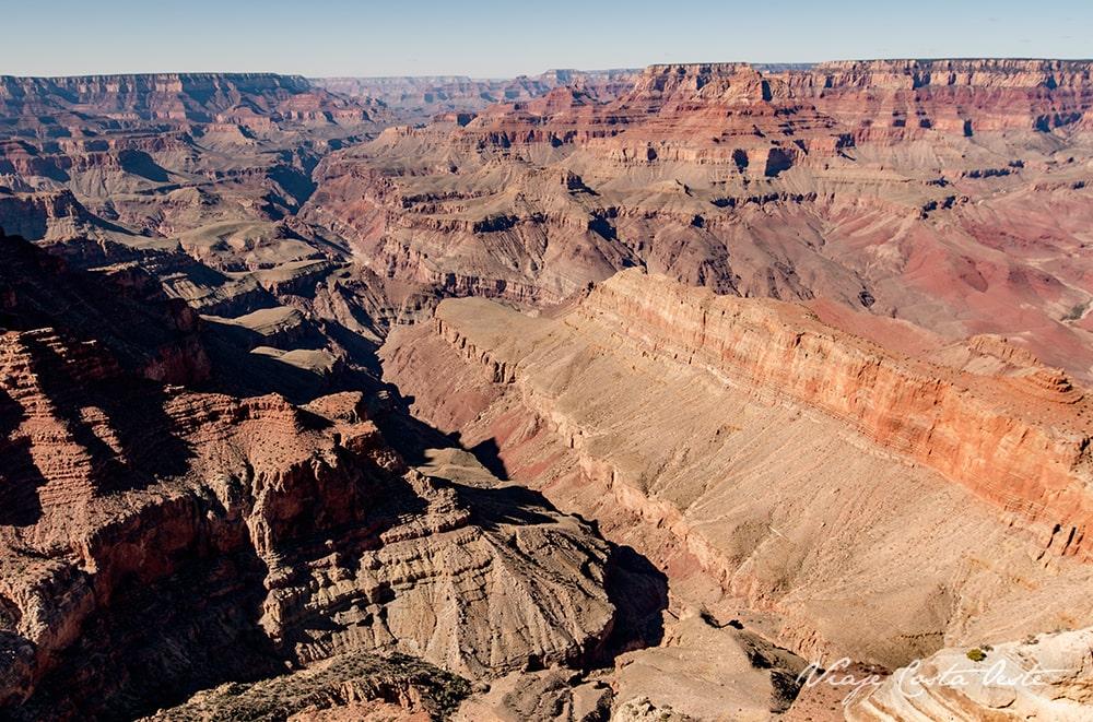 LIPAN POINT - DESERT VIEW DRIVE SOUTH RIM GRAN CAÑÓN DEL COLORADO VIAJE COSTA OESTE EEUU